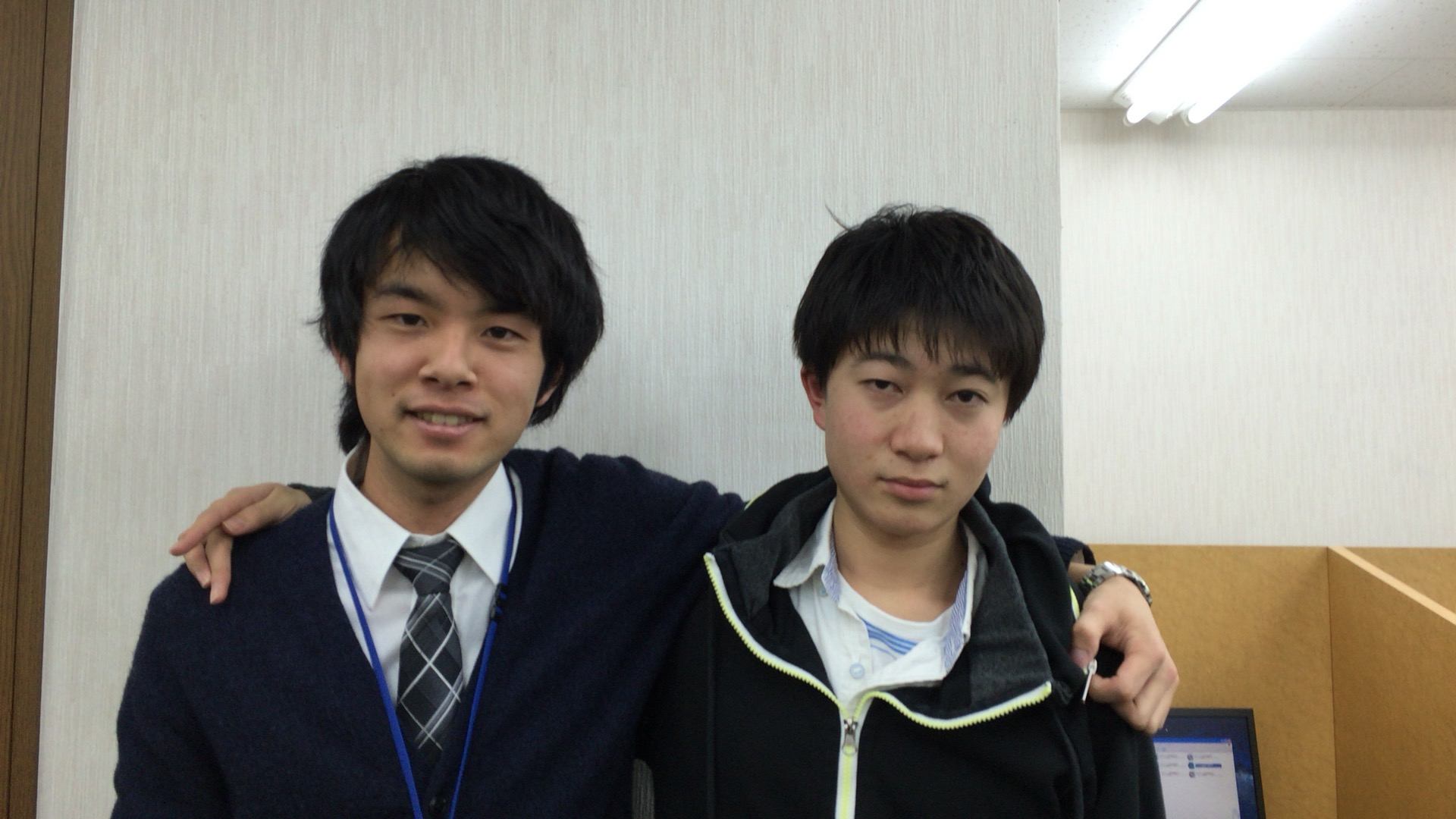 北村君&梅村先生