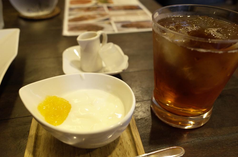 紅茶ヨーグルト