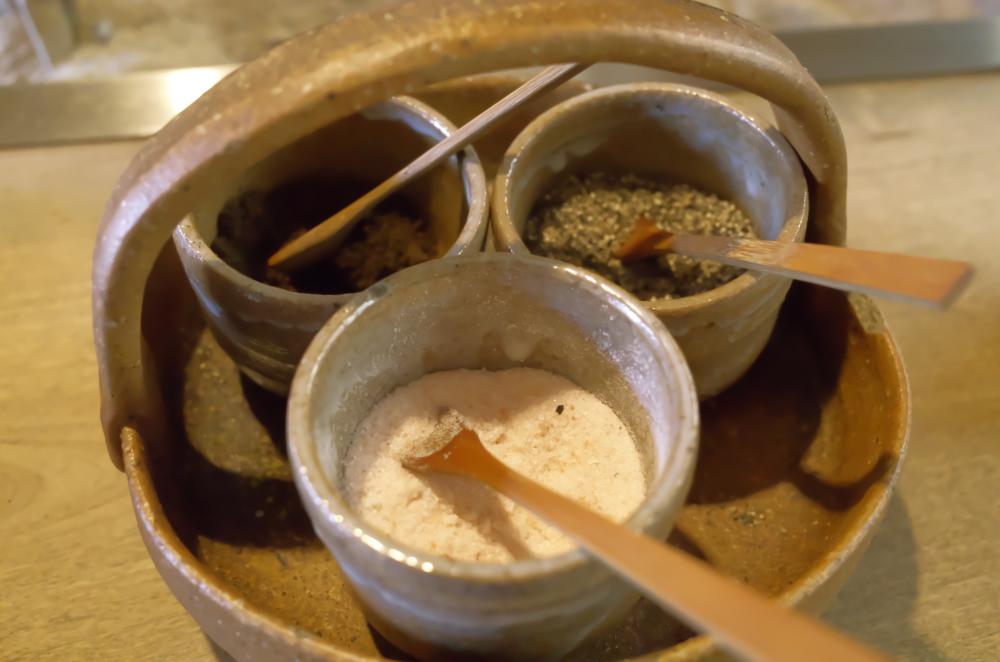 塩黒七味胡椒