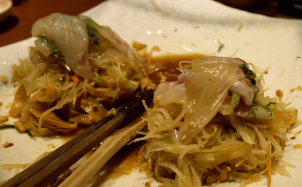 鯛サラダ2