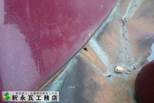 銅谷板、雨漏り修理工事 富山県射水市3