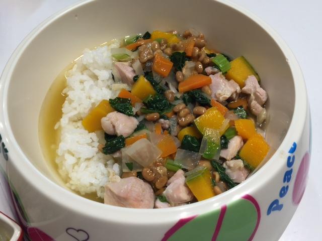 鶏肉と納豆ジュディー