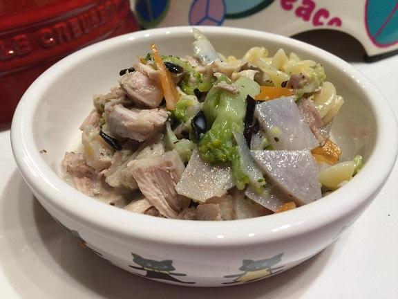 鶏肉と根菜の和風シチュー
