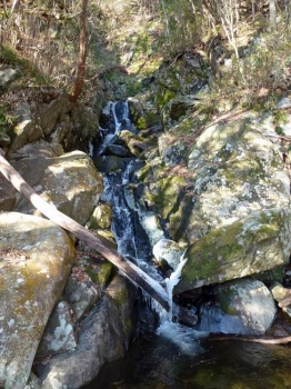 つららが下がる七つ滝