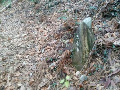 5合目の石塚