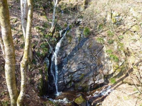 第三滝見橋から見る滝