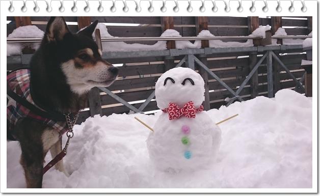 雪だるま④
