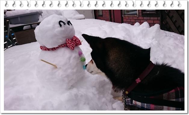 雪だるま⑥