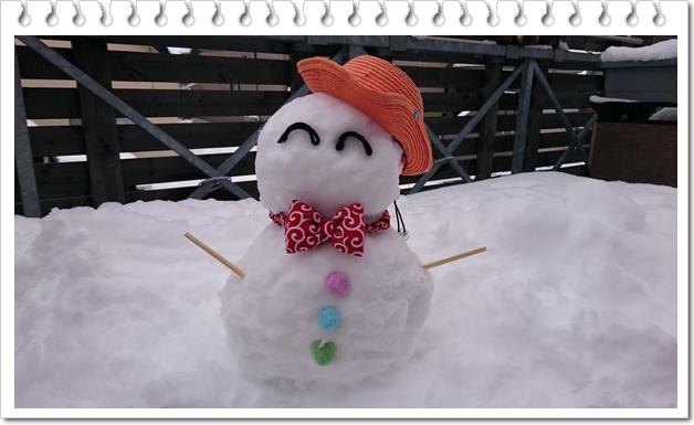 雪だるま⑨