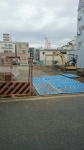 グルメシティ三河島店痕地建築開始2016年㋀23日