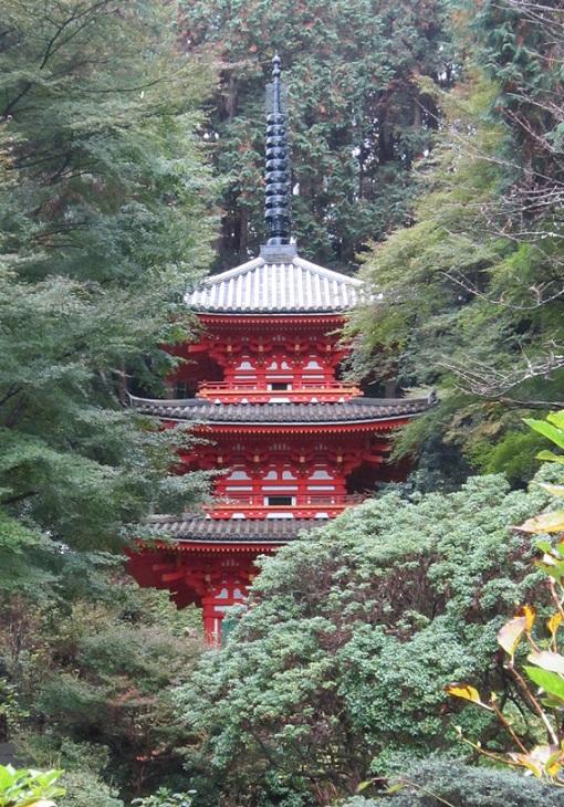 岩船寺 三重塔