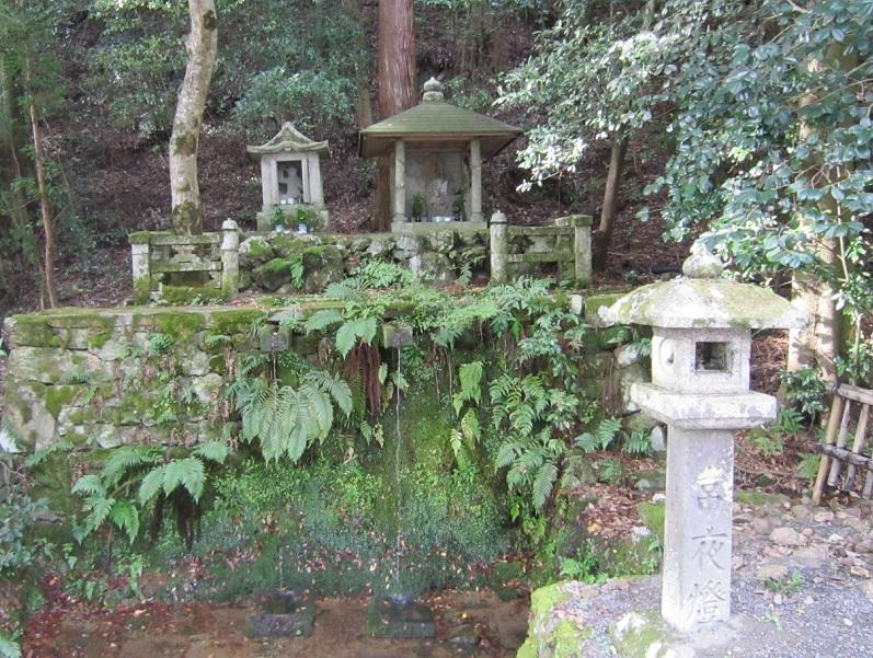 大雲寺 不動の滝