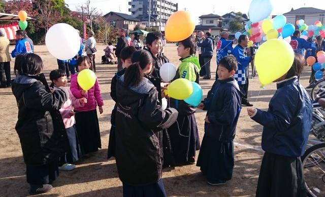 七郷市民まつり少年剣道大会