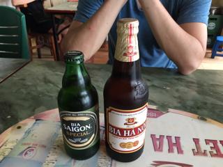 朝の気付ビール