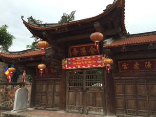 ホテルの横のお寺(金蓮寺)