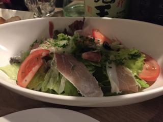 前菜③ 本日のサラダ