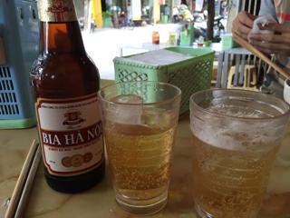 朝いちベトナムビール