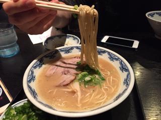 細麺(カタメ)