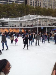ブライトンパークでスケート