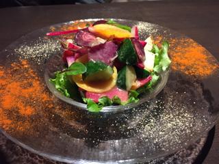 三浦野菜のトスカーナ風サラダ
