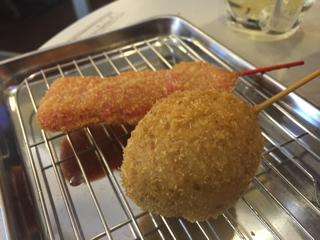 大阪名物紅ショウガ・煮玉子