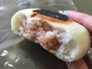 明太ポテトチーズ断面