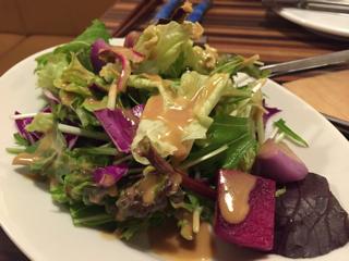 しゃきしゃき葉野菜のファーマーズサラダ