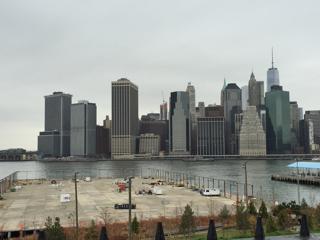Brooklyn側から見るマンハッタン