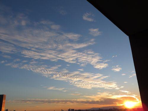 ブレブレの雲