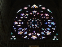 聖ヴィート教会のバラ窓