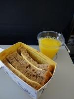 プラハ国内線朝食