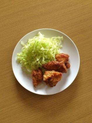 鶏ムネ唐揚げ(にんにく醤油漬け)