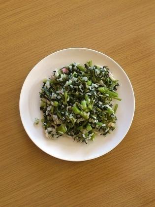 青菜ともやしの炒飯