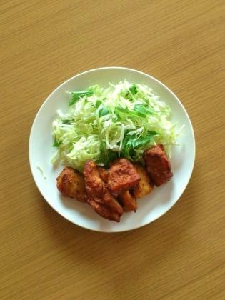鶏ササミ唐揚げ