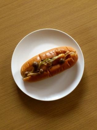 鮭バター醤油ドッグ4