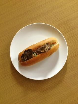 レバニラ炒めドッグ11