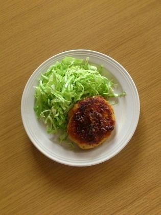 チキンハンバーグ(ムネ)