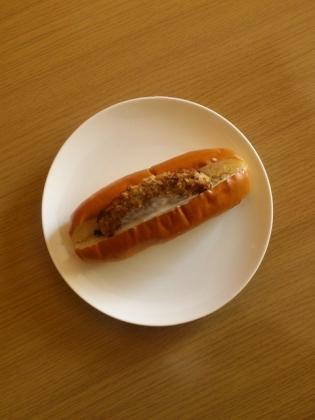 チキン豆腐ハンバーグドッグ