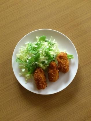 カキフライ、業務用スーパー冷凍