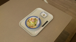 リンガーハット霜降り白菜とかにの豆乳クリームちゃんぽんスモール3