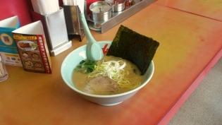 山岡家醤油(豚骨醤油)ラーメン630円5