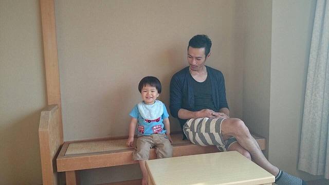 SHIPAと甥っ子 アラフォ― 男 ファッション
