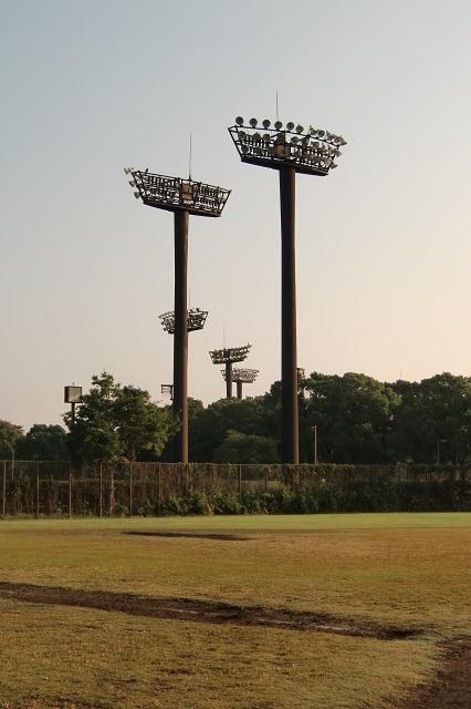 大井ふ頭中央海浜公園スポーツの森 夜間照明設備
