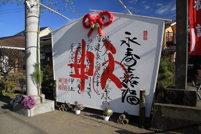 菱沼八王子神社のジャンボ絵馬
