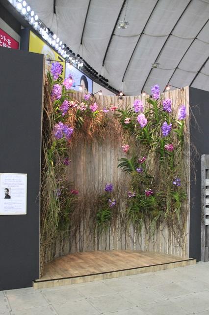 花アーティスト四天王の世界 ローラン・ボーニッシュ「蘭の絵画的空間」