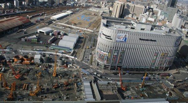 2008-02-13 アクティー大阪 32番街 001 大阪ステーションシティー建設現場。 600×331