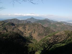 山奥の眺め