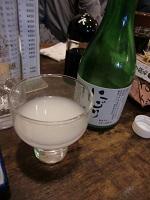 濁り酒@9杯目