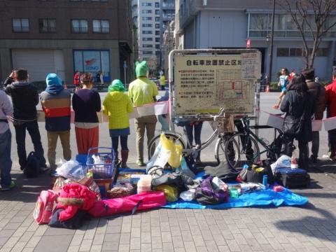 普通に東京マラソン