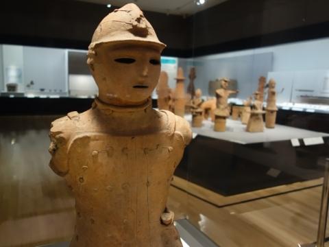 トーハクの考古展示室へ